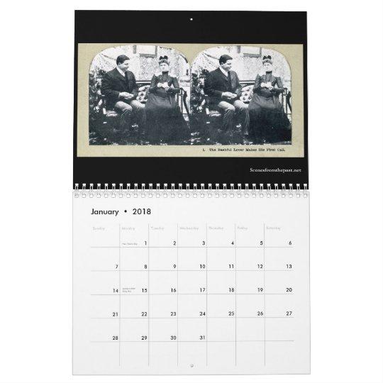 The Engagement Story - Vintage  2011-12 (18 month) Calendar