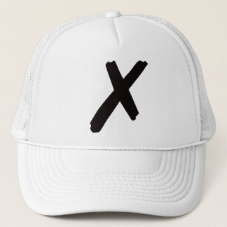 """The English American Letter """"X"""" Trucker Hat"""