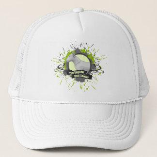 The English Bull Terrier SPLASH green Trucker Hat