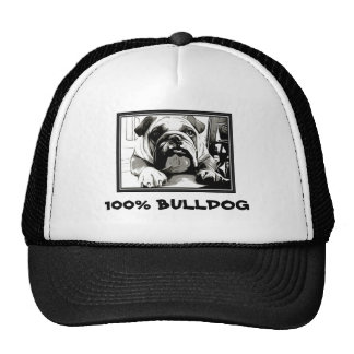 "The "" English Bulldog"" Collection Trucker Hats"