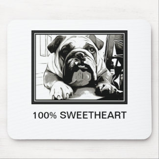 "The "" English Bulldog"" Collection Mouse Pad"