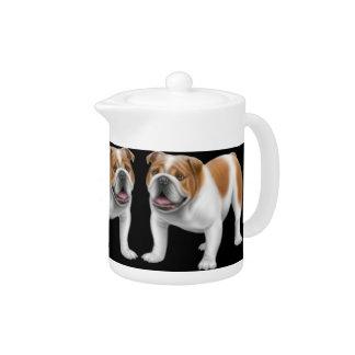 The English Bulldog Teapot