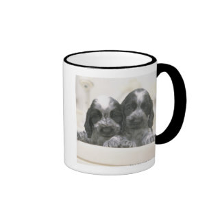 The English Cocker Spaniel is a breed of dog. It Ringer Coffee Mug