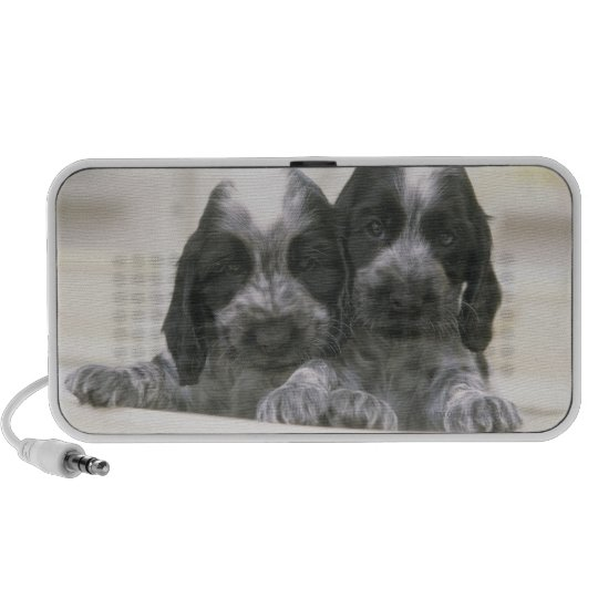 The English Cocker Spaniel is a breed of dog. It Portable Speaker