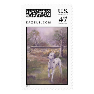 The English Countryside- a Dalmatian Postage