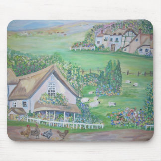 The English countryside Mouse Pads