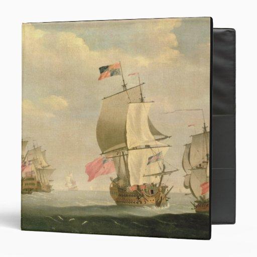 The English Fleet Under Sail 3 Ring Binder