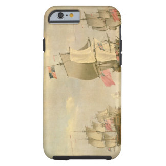 The English Fleet Under Sail Tough iPhone 6 Case