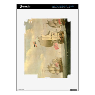 The English Fleet Under Sail iPad 3 Skin