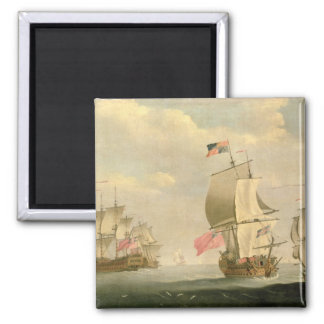 The English Fleet Under Sail Magnet