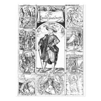 The English Gentleman Postcard