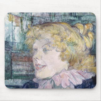 The English Girl from The Star at Le Havre Mouse Pad