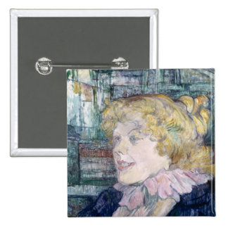 The English Girl from The Star at Le Havre Pinback Button