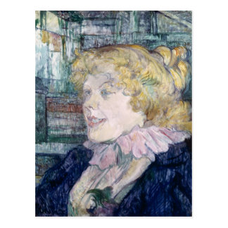 The English Girl from The Star at Le Havre Postcard