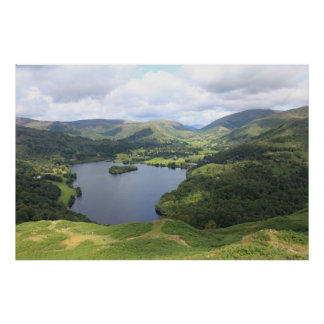 The English Lake District Poster