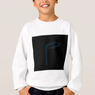 "The English Letter ""P"" In Musical Form Sweatshirt"