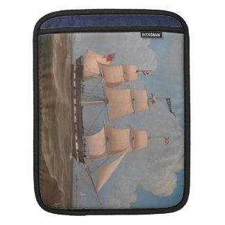 The English Merchant Ship Malabar - William Clark Sleeve For iPads