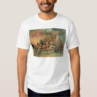 The English navy conquering a French ship Shirt