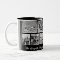The English Shepherd - America's Farm Dog Two-Tone Coffee Mug