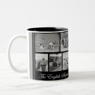 The English Shepherd - America's Farm Dog Two-Tone Coffee Mug