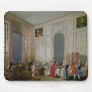 The English Tea  and a Society Concert Mouse Pad