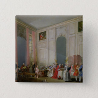 The English Tea  and a Society Concert Pinback Button