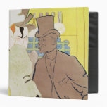 The Englishman at the Rouge, 1892 Vinyl Binder