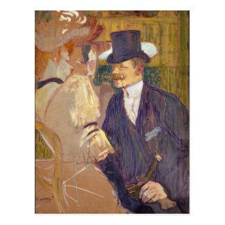 The Englishman Rouge) Toulouse-Lautrec Postcard
