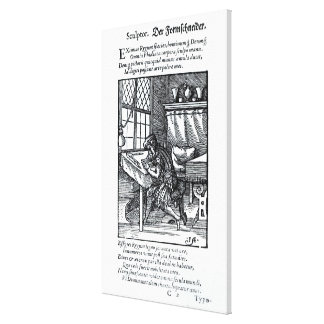 The Engraver, published by Hartman Schopper Stretched Canvas Prints