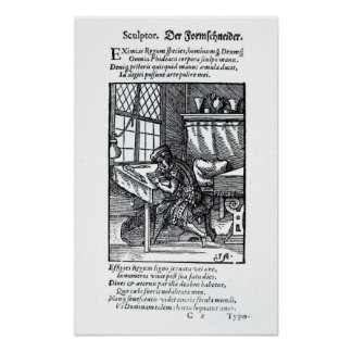 The Engraver, published by Hartman Schopper Poster