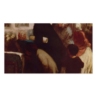 The Engraving Dealers by Honore Daumier Business Card