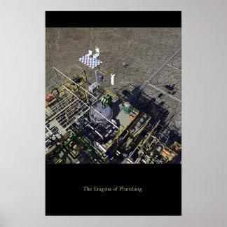 The Enigma of Plumbing Print