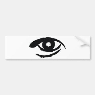 The Enlightened Eye Bumper Sticker