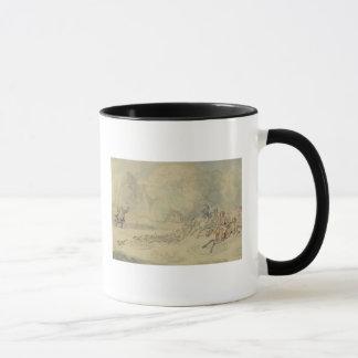 The Enraged Botanist (w/c, pen & ink and pencil on Mug