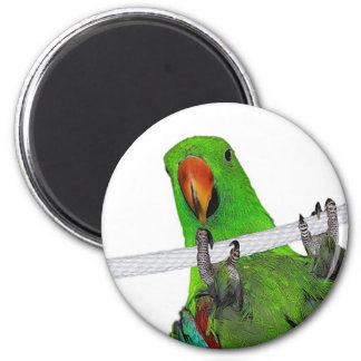 The Entertainer 2 Inch Round Magnet