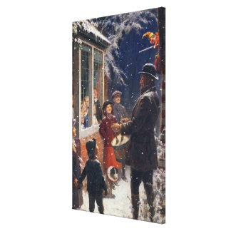 The Entertainer Canvas Print