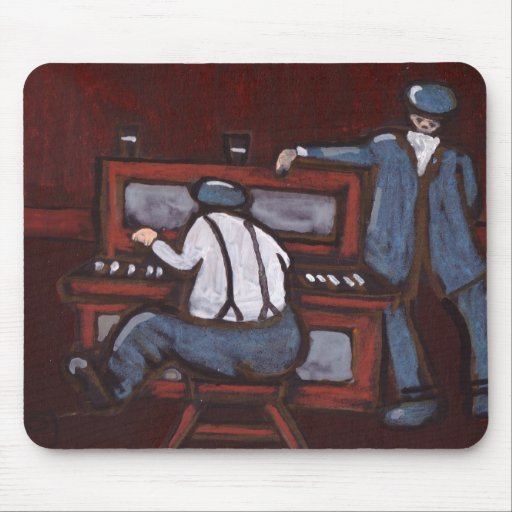 THE ENTERTAINER MOUSE PAD