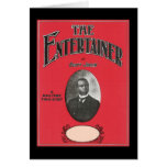 The Entertainer Scott Joplin Vintage Songbook Cove Card
