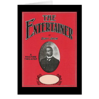 The Entertainer Scott Joplin Vintage Songbook Cove Greeting Cards
