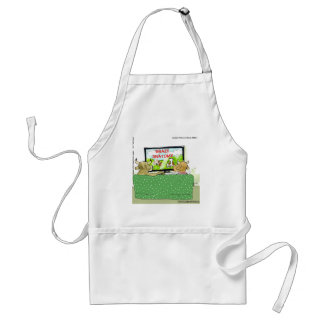 The Entertaining Cows Funny Adult Apron