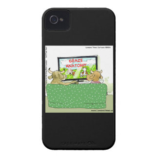 The Entertaining Cows Funny Case-Mate iPhone 4 Cases