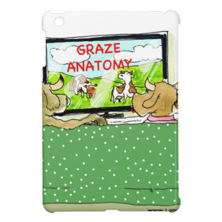 The Entertaining Cows Funny iPad Mini Covers