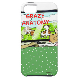 The Entertaining Cows Funny iPhone SE/5/5s Case