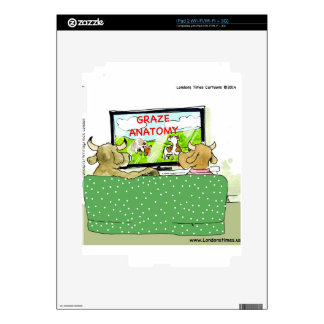 The Entertaining Cows Funny Decal For The iPad 2