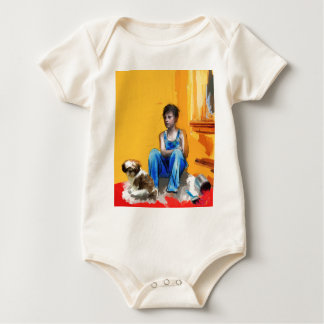 the entire truth.jpg baby bodysuit