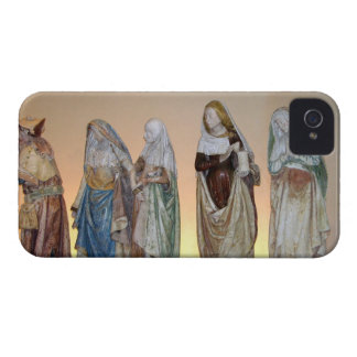The Entombment, 1490 (painted stone) (detail) 3 iPhone 4 Cover