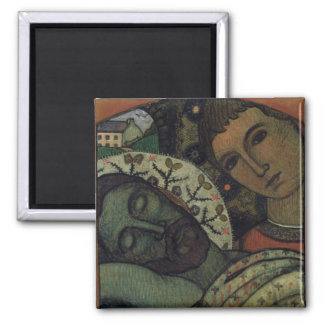 The Entombment 2 Inch Square Magnet