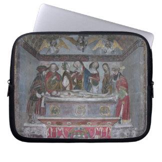 The Entombment, c.1523 (painted stone) Laptop Sleeve