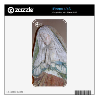 The Entombment, detail of one of the Holy Women, 1 Skin For iPhone 4