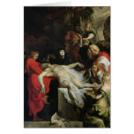 The Entombment Greeting Cards